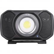 LED-Arbeitsleuchte mit Bluetooth-Lautsprecher max. 2000 Lumen