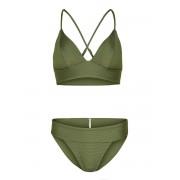 ONLY Trekantig Bikini Kvinna Grön