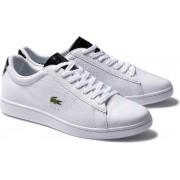 Lacoste Carnaby Evo 220 1 SMA Heren Sneakers - Wit - Maat 42