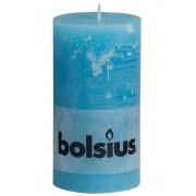 Bolsius Stompkaars Rustiek Aqua 130/68 mm