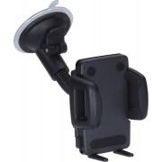 Richter Universele 'Gripper 6' Telefoonhouder met Zwanenhals & Zuignap 55-87mm 3622010401