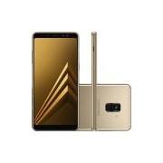 Smartphone Samsung Galaxy A8 Plus Dual Chip Android 7.1 Tela 6 Octa-Core 2.2GHz 64GB 4G Câmera 16MP - Dourado