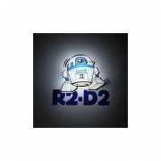 Lampara Star Wars Para Pared 3d EP7 Droid Mini R2-D2 Light-Multicolor