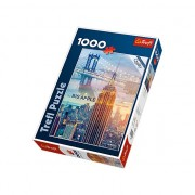 Puzzle Trefl, Zori de zi in New York, 1000 piese