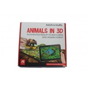 MAYAR - Animals in 3D - 38 Augmented Reality flash cards and Jigsaw puzzle - learn by fun - Gift for all age groups - Android Based.