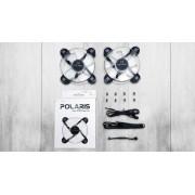 Inwin Polaris RGB 120mm Silent Case Fan Twin Pack