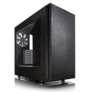 Кутия за Компютър, Fractal Design DEFINE S Black Window, FD-CA-DEF-S-BK-W/FD DEFINE S BLACK WINDOW