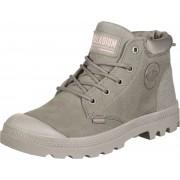 Palladium LOW CUF LEA Damen Schuhe grau