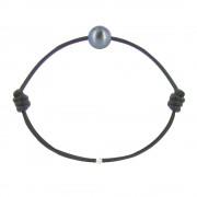 Les Poulettes Bijoux Bracelet La Perle de Culture Noire des Poulettes - Classics