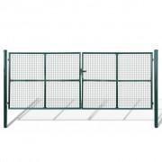 Градинска оградна порта 415 х 200 см