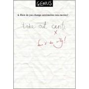 Genius examenblunders - How do you change centimetres into metres