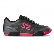 Pantofi Salming șoim pantof femei Gunmetal / roz