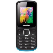 "Telefon Mobil Vonino Nono C, LCD 1.8"", 2G, Dual SIM (Negru/Albastru) + Cartela SIM Orange PrePay, 6 euro credit, 6 GB internet 4G, 2,000 minute nationale si internationale fix sau SMS nationale din care 300 minute/SMS internationale mobil UE"