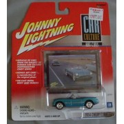 Johnny Lightning Car Culture Art Cars 1954 Chevy Corvette Convertible BLUE