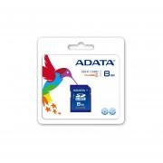 Memoria SD 8 GB Adata SDHC Clase 4 ASDH8GCL4-R-Azul