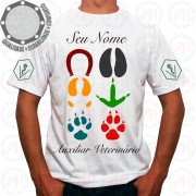 Camiseta Auxiliar Veterinário