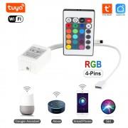 Inteligentný WiFi Ovladač LED RGB 12V - Tuya Smart Life