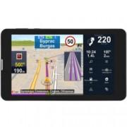 """Prestigio GeoVision Truck, автомобилна навигация, 7""""(17.78cm) IPS сензорен дисплей, Bluetooth, Wi-Fi, 1 GB вградена памет, microSD слот, SIM card слот с вградена камера предна 0.3Mpix, задна 2.0Mpix, карта на Европа, 3 години безплатно обновяване"""