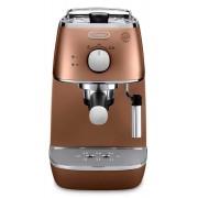 Espressor manual DeLonghi Distinta ECI 341 CP, 1100W, 15 bar, Oprire automată, Sistem manual de spumare a laptelui, Cupru