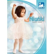 Wola - Plain cotton tights for babies Niunki