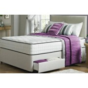 Taylor Divan Bed w/ Memory Spring Mattress & Drawer Options - 2 Colours!
