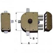 Cr serrature serratura da applicare art.3350-c c/scrocco dx 60 mm