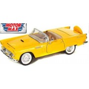 Motormax 1:24 1956 Ford Thunderbird (American Classic Diecast Collection) (Red)