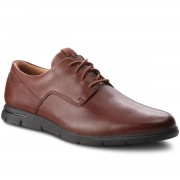 Обувки CLARKS - Vennor Walk 261364217 Mahogany Leather