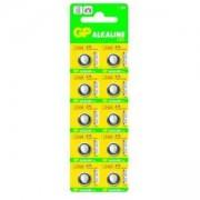 Бутонна алкална батерия GPА76 LR-44/ 10 бр./pack цена за 1 бр./ 1.55V GP, GP-BA-LR-44