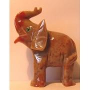 Słoń z podniesiona trąbą - 5,5 cm