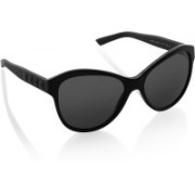 DKNY Cat-eye Sunglasses(Black)