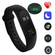 Samshi M2 Bluetooth Intelligence Health Smart Band Wrist Watch Monitor Smart Bracelet