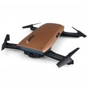 RC Drone Elfie Mini Wi-Fi Plegable JJRC H47- Marrón
