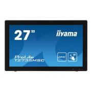 "IIYAMA ProLite T2735MSC-B2 - LED-monitor - 27"" (27"" zichtbaar) - 1920 x 1080 Full HD (1080p) - A-MVA+ - 255 cd/m² - 3000:1"