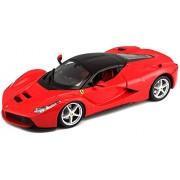 Bburago 1:24 Race and Play La Ferrari, Multi Color