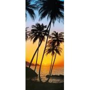 W + G Deurposter Sunny Palms