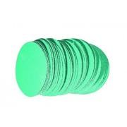 """RODAC schuurschijven""""green""""77mm - zonder gaten P80 (100 stuks)"""