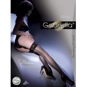 Gabriella - Elegant back seam hold ups Linette 20 DEN