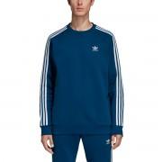 Adidas Sweatshirt Stripes Crew mit rundem Ausschnitt