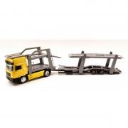 Newray - camion trasporto auto truck man f2000 scala 1:43