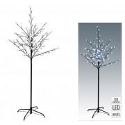 96 LEDes világító fa hidegfehér kül- és beltéri elemes 150cm AXZ106050