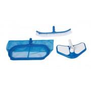 Intex medence tisztító szett, merítő háló, porszívófej, kefe 50007-29057