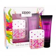 Zippo Fragrances Popzone darčeková kazeta pre ženy toaletná voda 40 ml + telové mlieko 100 ml