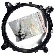 CPU Cooler Fan heatsink Bracket Holder Base For Lga 775 1150 1155 1156 1366 Sock