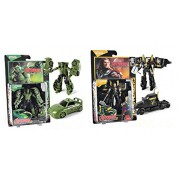 HALO NATION HULK and Thor Transformation Deformation Car Truck Avengers Age of Ultron Action Figure Transformers Toy