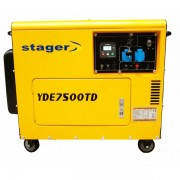 Generator diesel cu automatizare Stager YDE7500TD