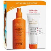 Collistar Kit Latte Spray Superabbronzante Idratante SPF 15 200 ml IN REGALO Balsamo Doposole Idratante Restitutivo 100 ml
