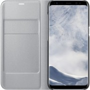 Samsung Galaxy S8 Hoesje - LED View Cover Zilver