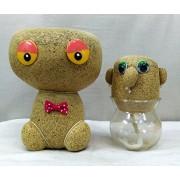 Crazy Sutra AWESOME DIY Mr Grass Head, Growing Grass Doll, Grass Head, Magic Plant Grass Doll, Mini Plant Dollbig