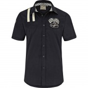 Goodyear Hemd Goodyear Slim Fit Shirt Shinrock schwarz XL schwarz
